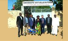 ISTA SIGNE UN ACCORD AVEC L'UNIVERSITÉ VIRTUELLE DU TCHAD image